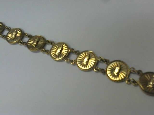 Gold Bracelet 10K Yellow Gold 10.4g