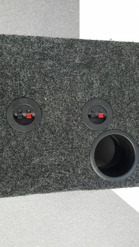"2 ROCKFORD FOSGATE SUB 15"" 600WATT IN SUB ENCLOSURE BOX"