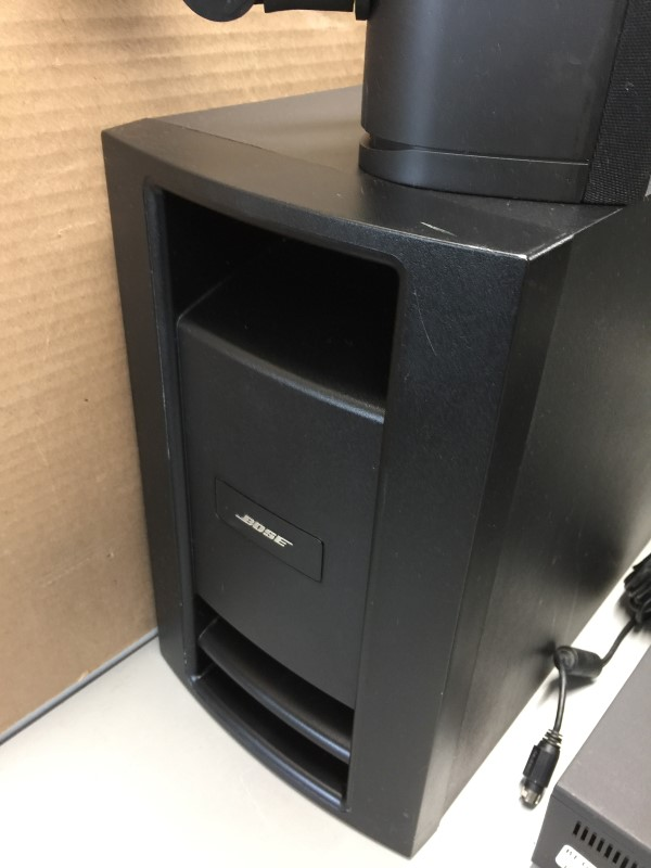 BOSE MC1 MEDIA CENTER W/ PS28 SERIES III 5.1 POWERED SPEAKER SYSTEM