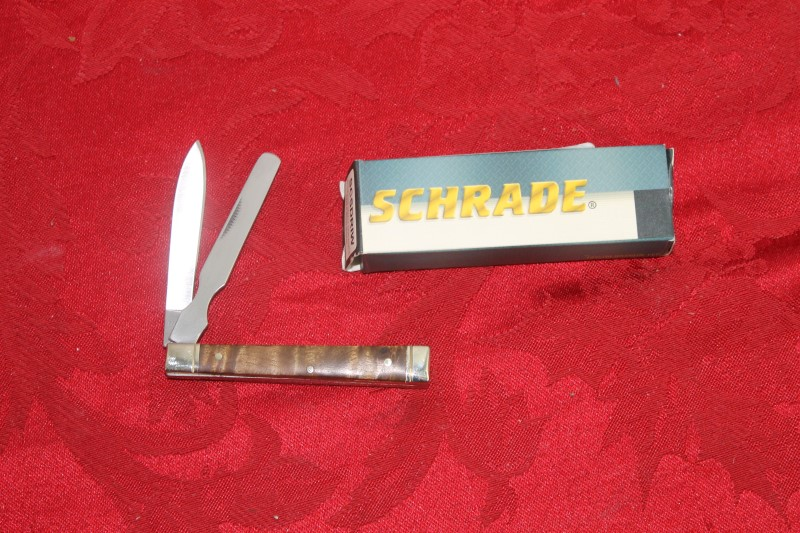 Schrade Uncle Henry 2 Blade Pocket Knife