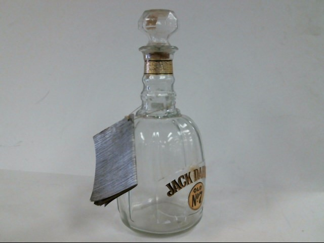 JACK DANIELS Glass/Pottery BOTTLE