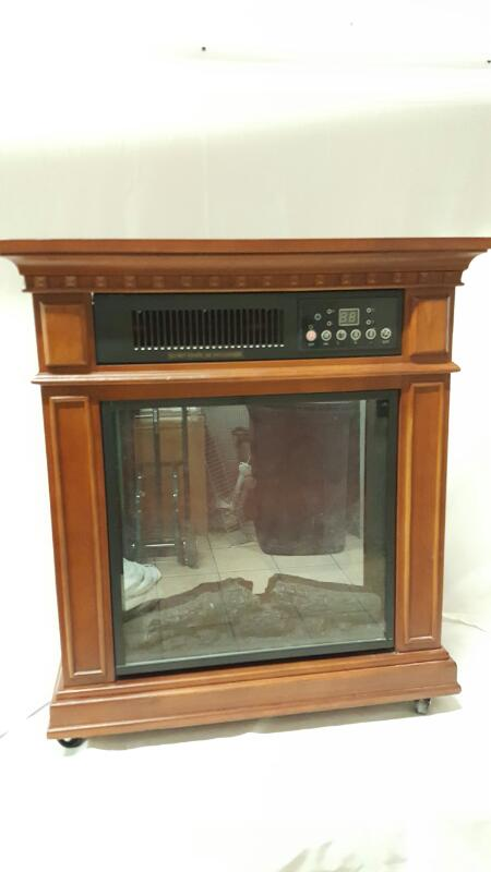 ALLEN FACE & COMPANY Heater ELCTRIC FIRE PLACE