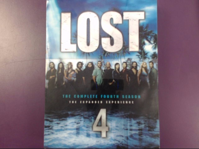 LOST SERIES: COMLETE FOURTH SEASON 4 DVD: THE EXPANDED EXPERIENCE