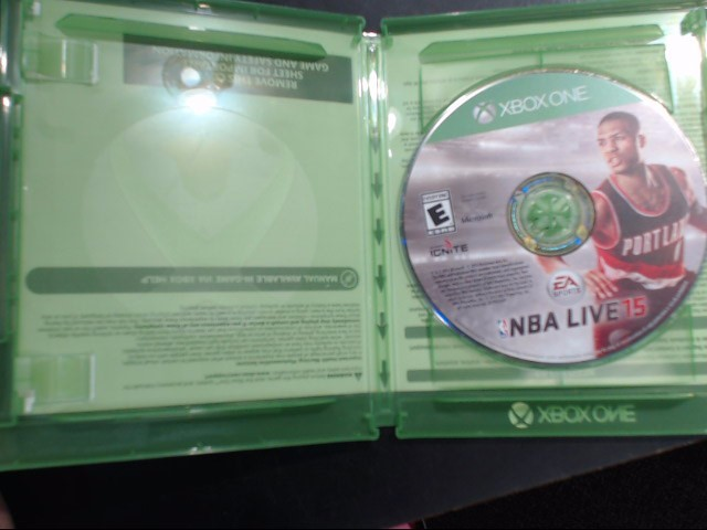 MICROSOFT Microsoft XBOX One Game NBA LIVE 15 - XBOX ONE