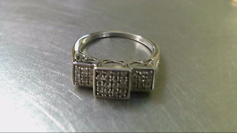 Lady's Diamond Fashion Ring 44 Diamonds .44 Carat T.W. 10K Yellow Gold 2.7g