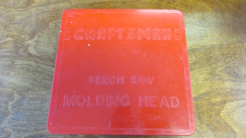 CRAFTSMAN BENCH SAW MOLDING HEAD