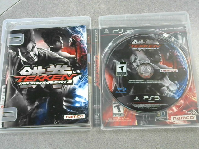 SONY Sony PlayStation 3 Game TEKKEN TAG TOURNAMENT 2