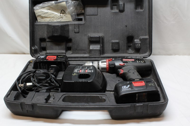 CRAFTSMAN Cordless Drill CS1050