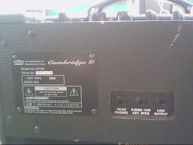 VOX Electric Guitar Amp CAMBRIDGE 15 AMP