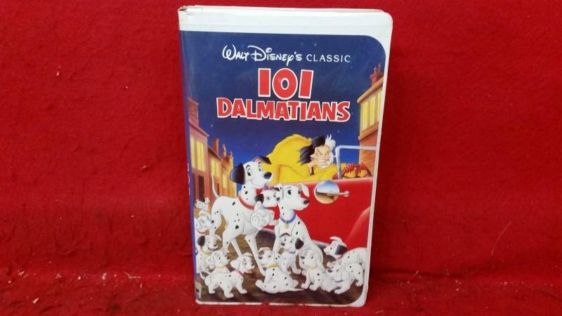 101 Dalmatians - Walt Disney (VHS, 1992) - Black Diamond