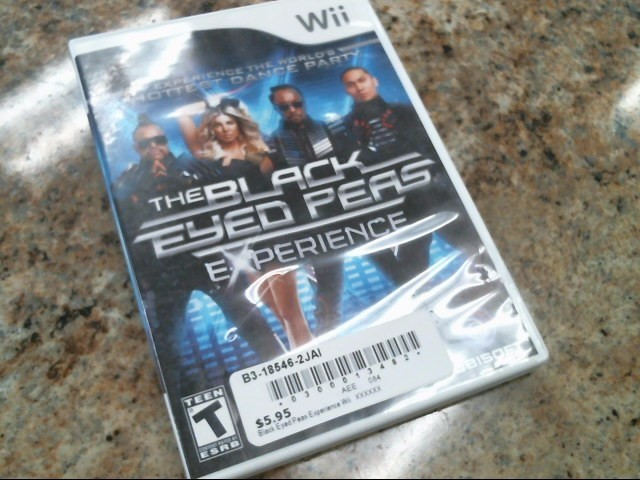 NINTENDO Nintendo Wii Game THE BLACK EYED PEAS THE EXPERIENCE