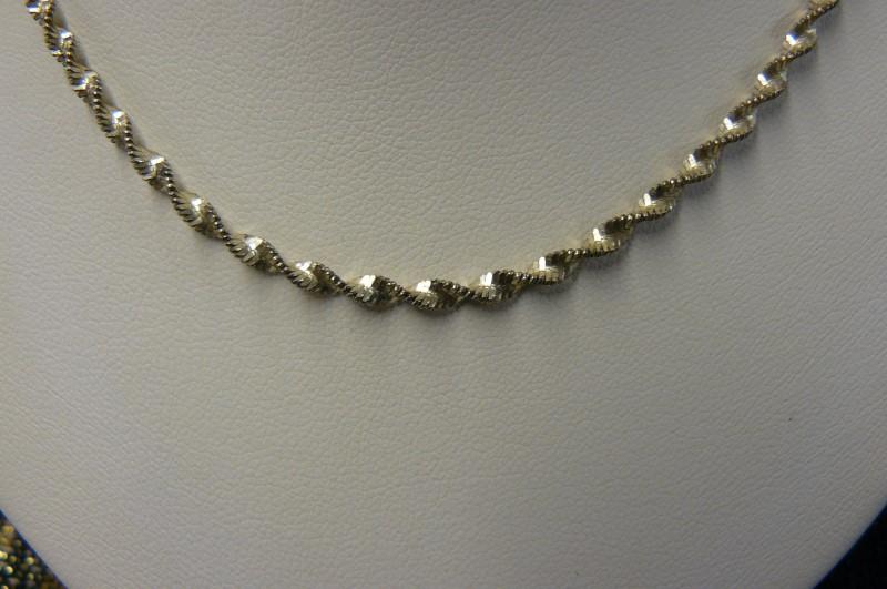 """18"""" Silver Chain 925 Silver 4.3dwt"""