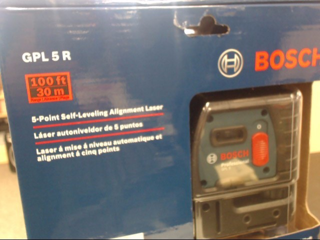 BOSCH Laser Level GPL5R