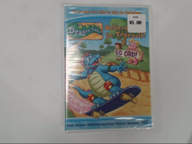 DVD MOVIE DRAGON TALES: BELIEVE IN YOURSELF