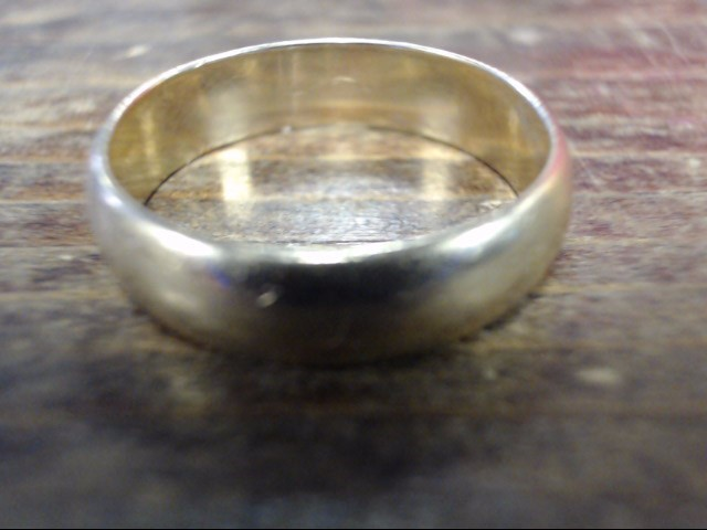 Gent's Gold Wedding Band 14K Yellow Gold 4.7g Size:9.5
