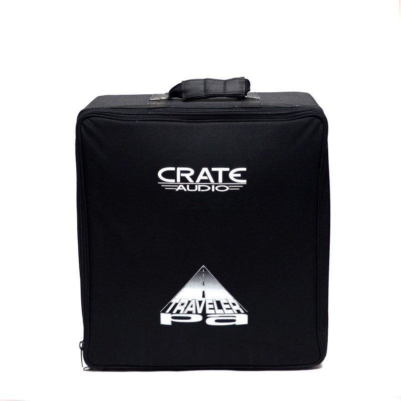 Crate TV100 Portable PA System (CMX42FX Mixer, PSM6P Speakers, Mic)>