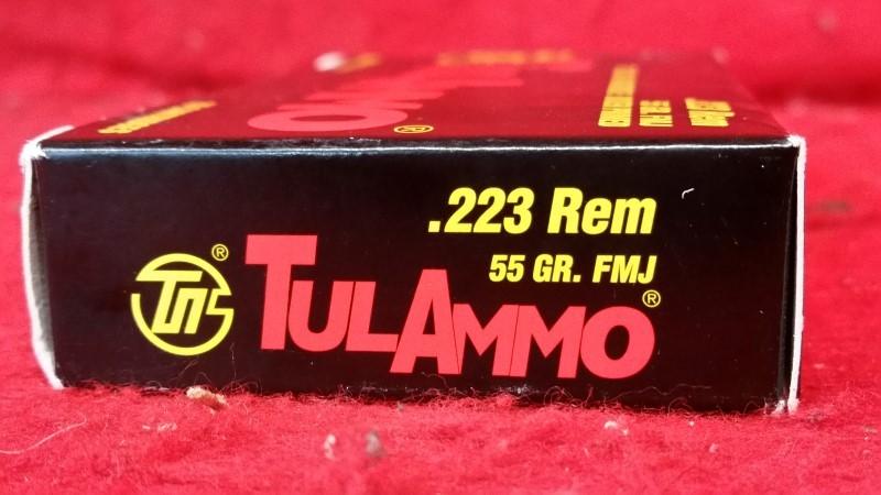 Tula Ammo 223 Rem - 55gr FMJ
