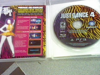 SONY Sony PlayStation 3 Game JUST DANCE 4