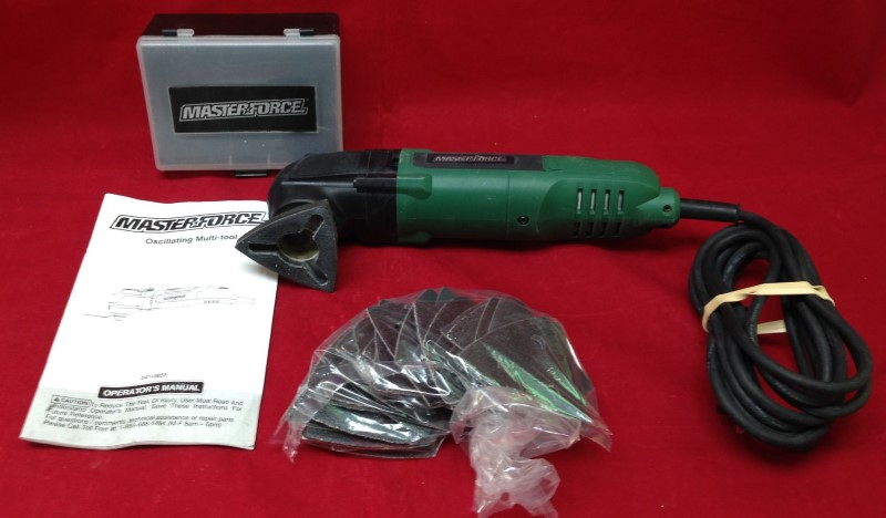 MASTER FORCE Miscellaneous Tool 241-0855 OSCILLATING TOOL