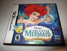 NINTENDO DS THE LITTLE MERMAID