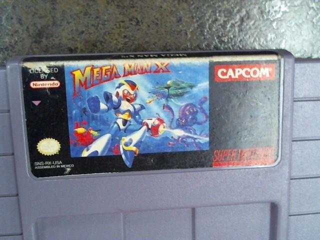 NINTENDO Nintendo SNES Game MEGA MAN X