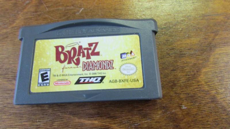 NINTENDO Nintendo GBA Game BRATZ DIAMONDZ