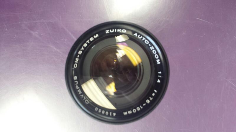 Olympus 75-150mm Zuiko Auto Zoom Camera Lens