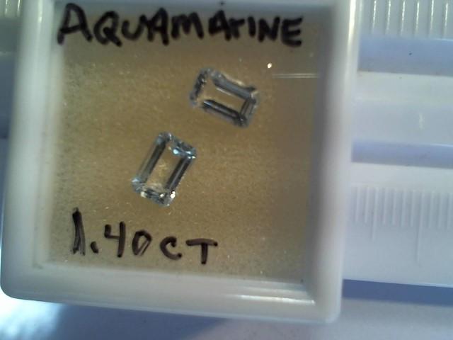 Aquamarine 1.40ct lite blue