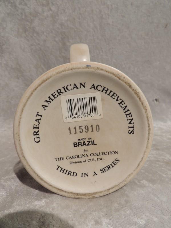 Miller High Life Great American Achievements Stein 1st Transcontinental Railway