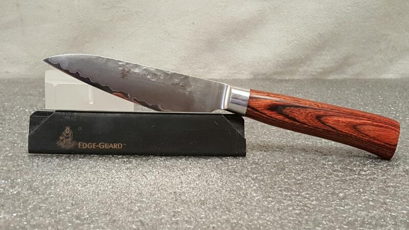 """Tamahagane San Tsubame Wood 3 1/2 inch"""" Paring Knife (SNH-1109)"""
