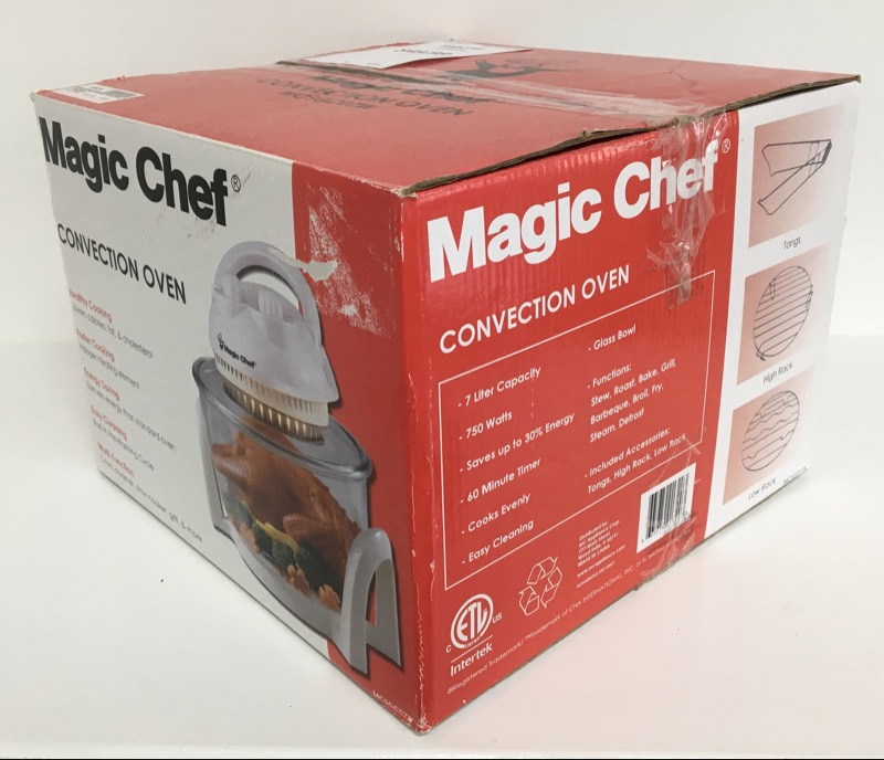 *NEW* Magic Chef Counter-Top Convection Oven MCSGC07W