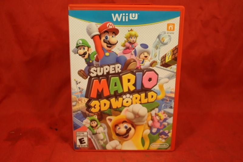 Super Mario 3D World Nintendo Wii U Complete