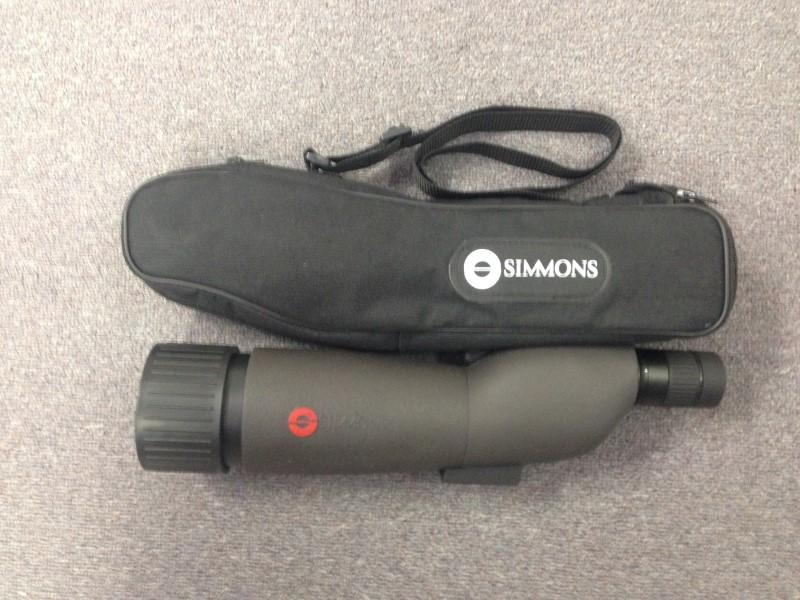 Simmons Prosport 20-60x60mm Spotting Scope , Black - 846060S