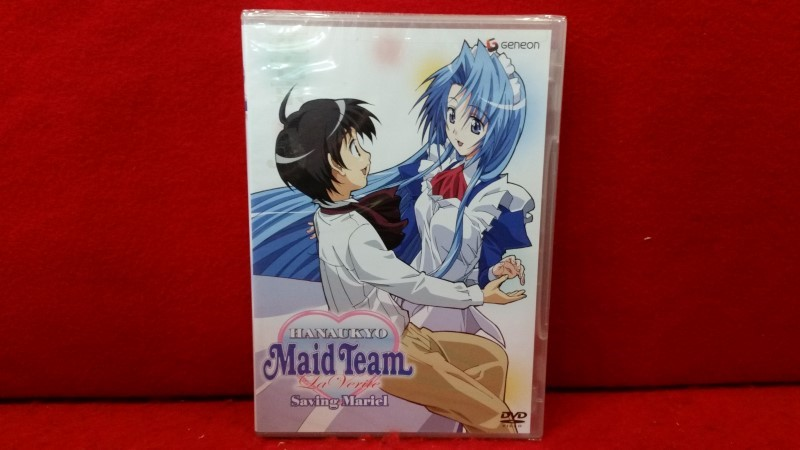 Hanaukyo Maid Team La Verite - Vol. 3: Saving Mariel (DVD, 2005) NEW SEALED