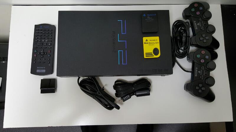 Sony Playstation 2 PS2 Fat Console SCPH-50001 BUNDLE!!!