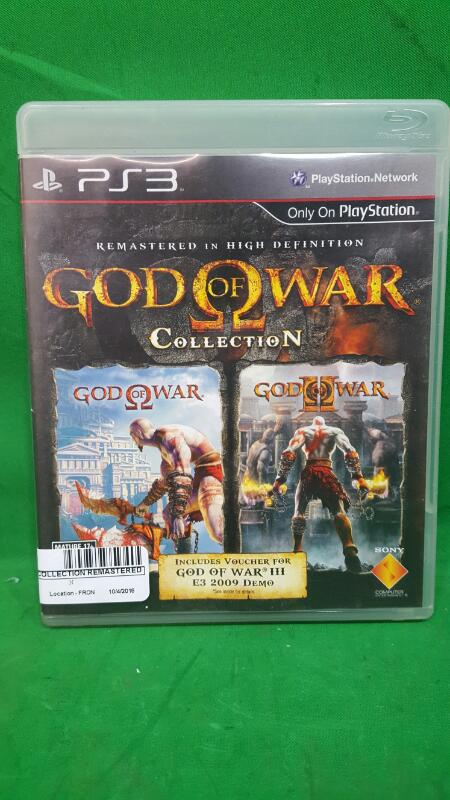 God Of War Collection Remastered HD (Sony PlayStation 3, PS3)