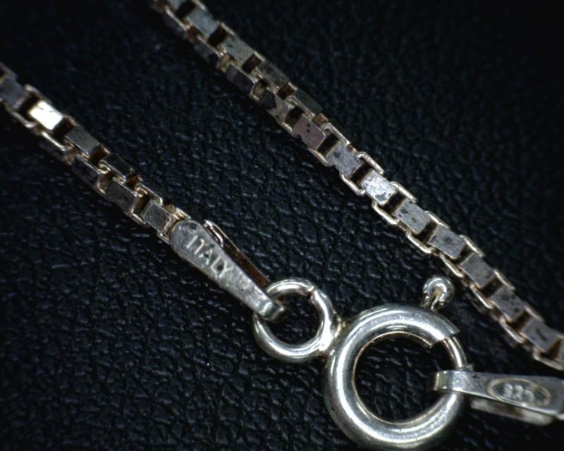 Tiffany & Co. Silver Box Chain 925 Silver 5dwt