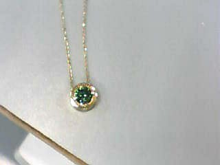 Diamond Necklace 1.66 CT. 14K Yellow Gold 2.5dwt