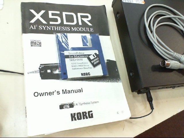 Korg X5DR AI2 Synthesis Sound Module Synthesizer
