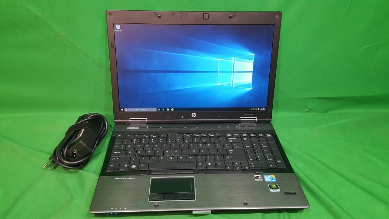 HEWLETT PACKARD ELITEBOOK 8540W 500gb HDD; 4gb Ram; Core i7 2.67Ghz