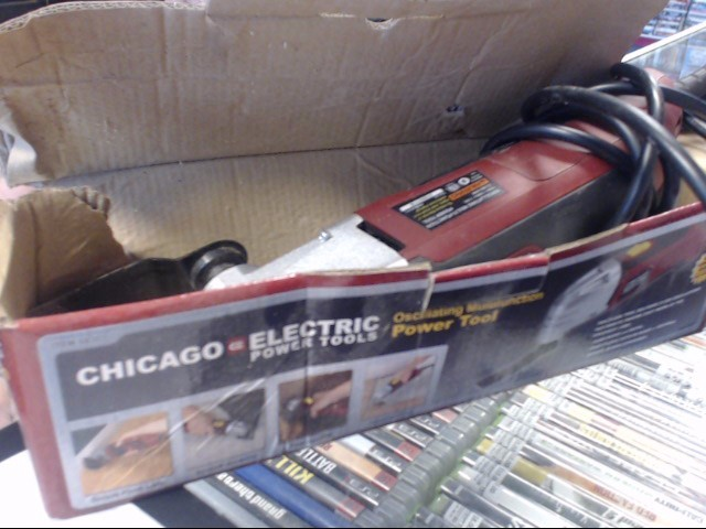 CHICAGO ELECTRIC Hand Tool 68303 OSCILLATING MULITFUNCTION POWER TOOL
