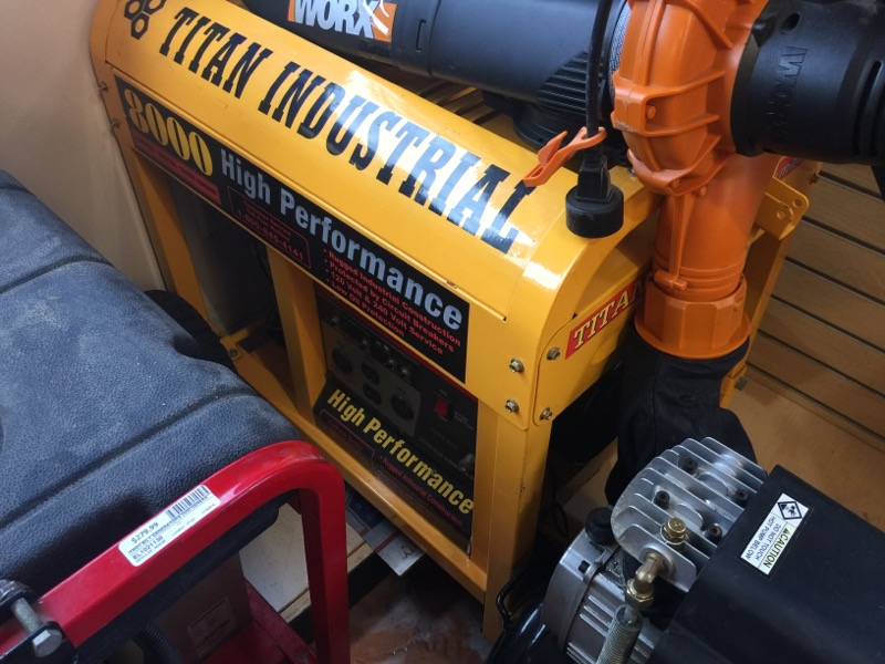 TITAN INDUSTRIES Generator TG8000