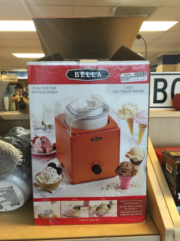 BELLA ICE CREAM MAKER 13874