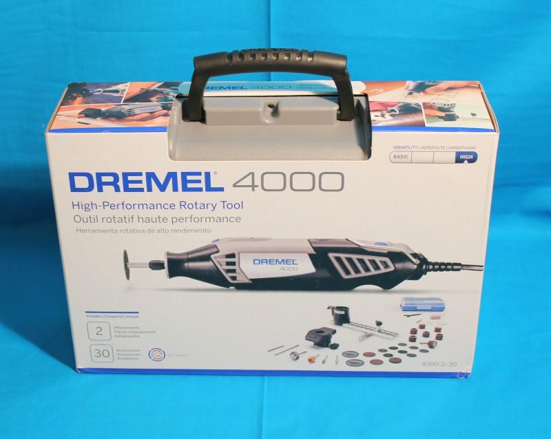 DREMEL 4000 HIGH PERFORMANCE ROTARY TOOL