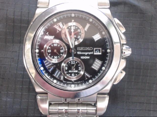 SEIKO Gent's Wristwatch 7T62-0EW0