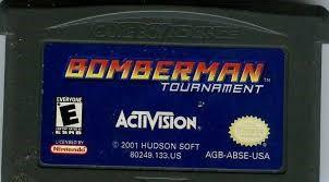 NINTENDO Nintendo GBA Game BOMBERMAN TOURNAMENT