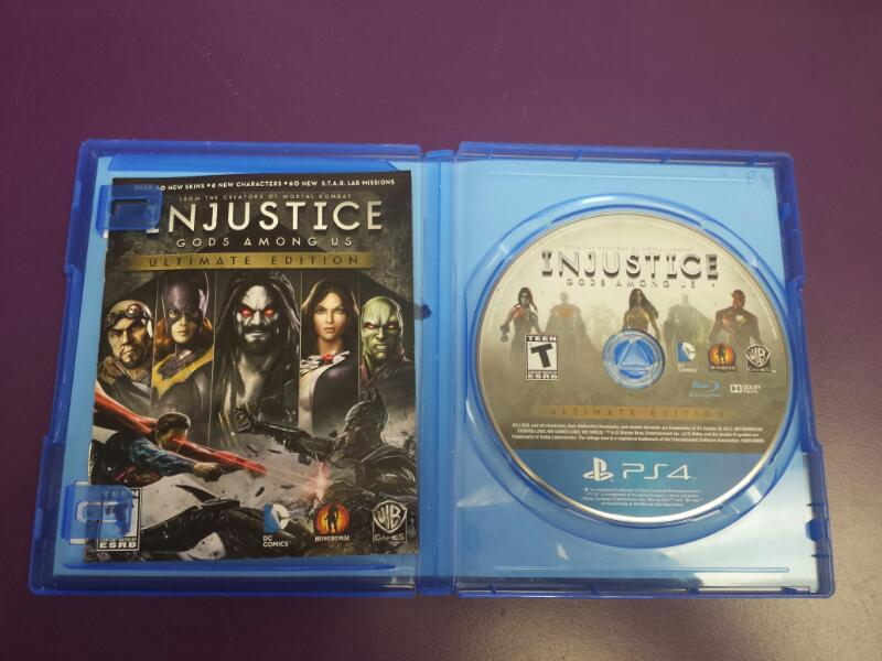 Injustice: God's Among Us ULTIMATE EDITION Sony Playstation 4 PS4