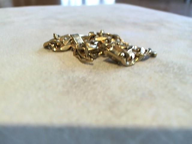 Gold Bracelet 14K Yellow Gold 16.1g