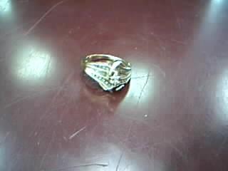 Lady's Diamond Fashion Ring 26 Diamonds .52 Carat T.W. 10K Yellow Gold 3.72g