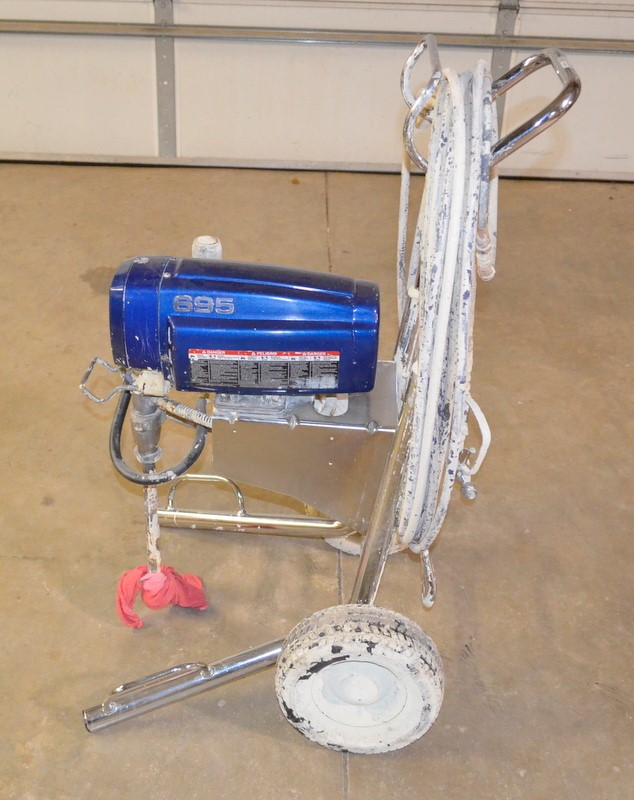 GRACO AIRLESS SPRAYER ULTRA MAX 695